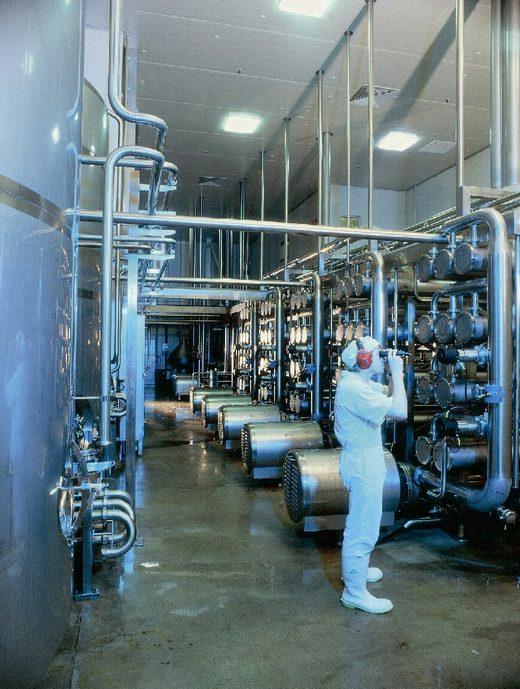 ニュージーランドのラクトフェリン精製工程1